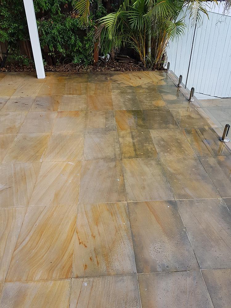 sandstone pavers - enviro clean
