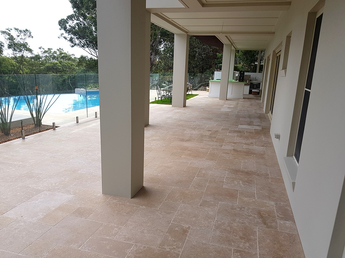 Natural Stone Pavers - Enviro Clean & Capture